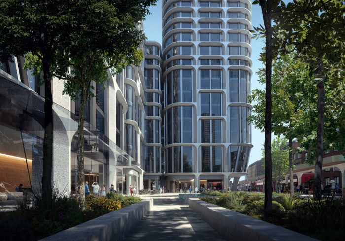 Zaha Hadid, London,vauxhall Towers